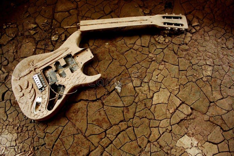Gitara bujak fotografia stock