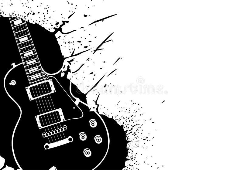 gitara elektryczna ilustracja wektor