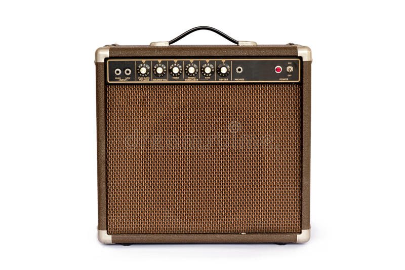Gitara elektryczna amplifikator obraz royalty free