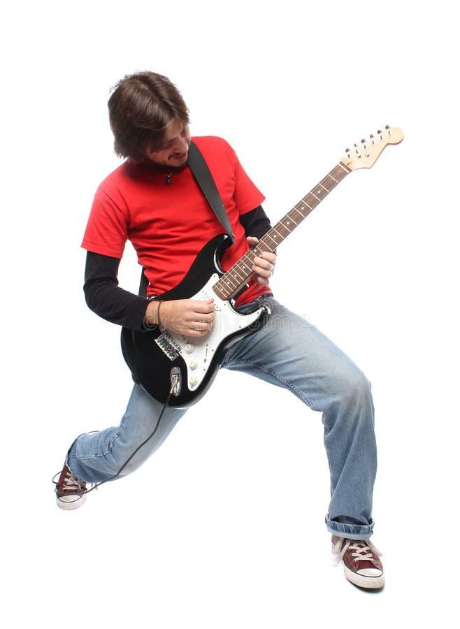 gitara gracz fotografia royalty free