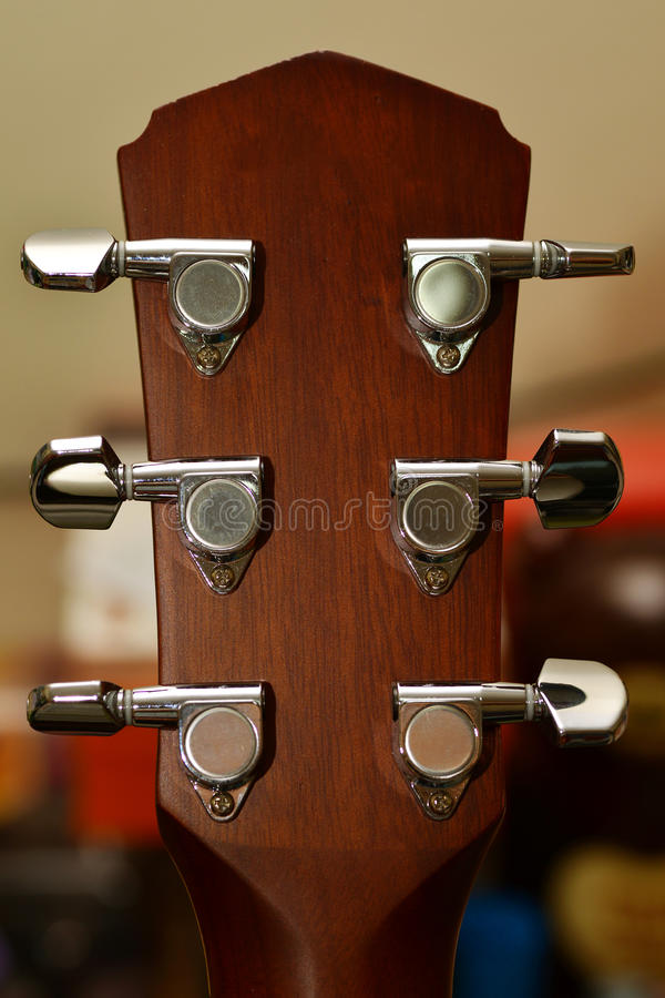 Gitara metalu szpilka obraz royalty free