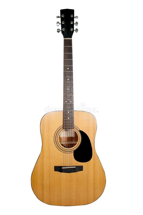 Gitara na białym tle Gitara na białym tle zdjęcie stock