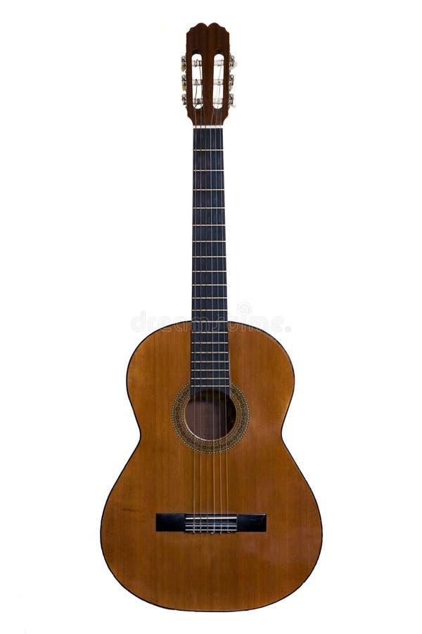 gitara odizolowywająca zdjęcie stock