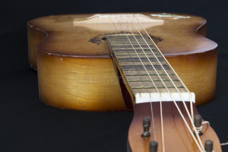 Gitara Smyczkowa, stary, dawność zdjęcia royalty free