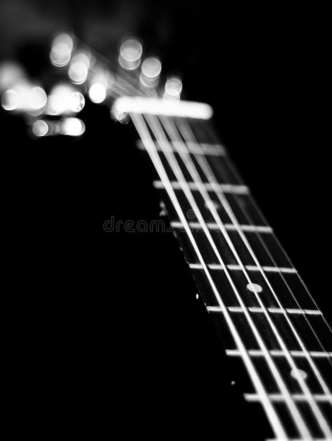 Gitara sznurki zdjęcia royalty free