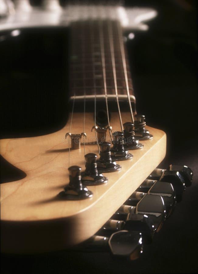 gitara szyi fotografia stock