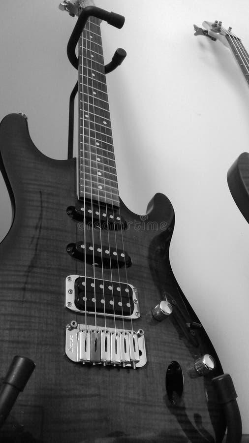 gitarr arkivbild