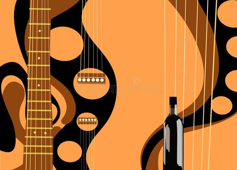 Gitarre stock abbildung