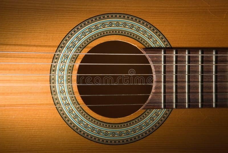 Gitarre. stockbild