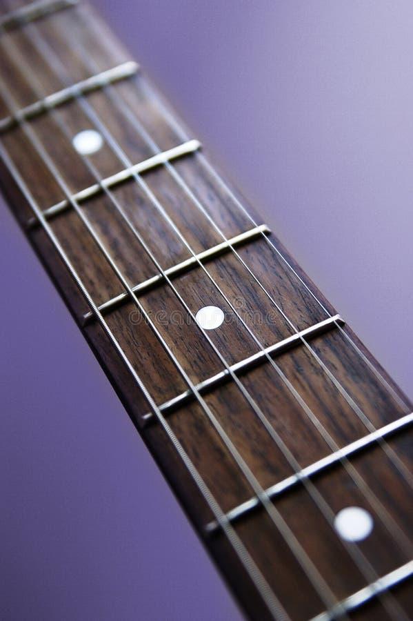Gitarre Fingerboard stockfotografie