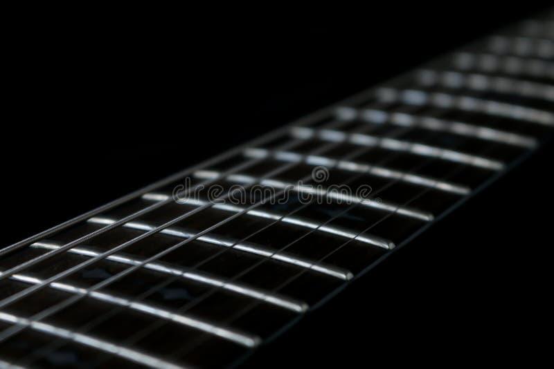 Gitarre fretboard lizenzfreies stockbild