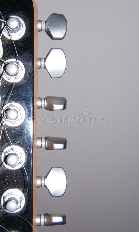 Gitarre mech lizenzfreies stockfoto