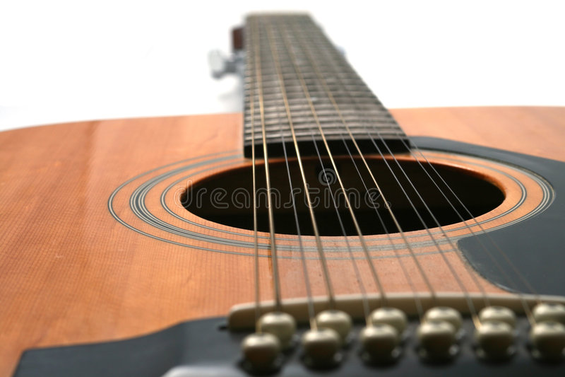 Gitarre Mit 12 Zeichenketten Stockfotos