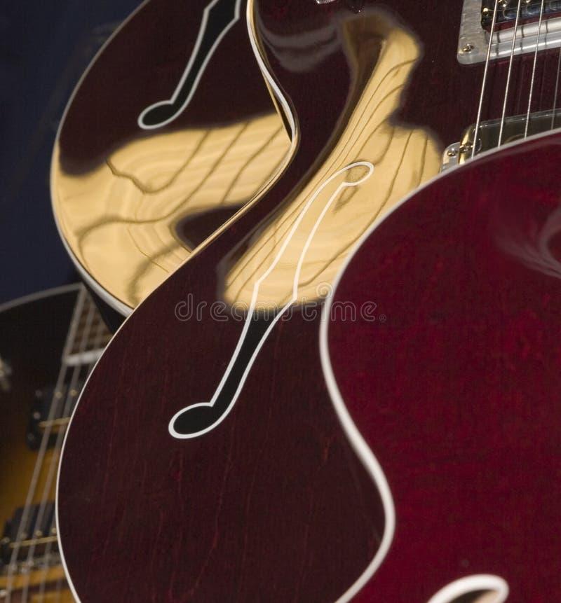 Gitarren-Karosserien stockfoto