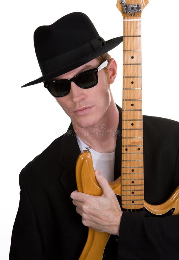 Gitarren-Spieler 3 stockfotografie