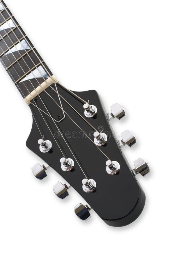 Gitarren-Triebwerkgestell-Nahaufnahme stockfotos