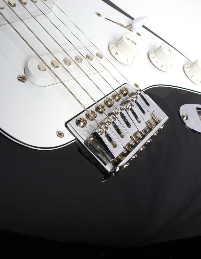 Gitarrenbrücke lizenzfreie stockfotos