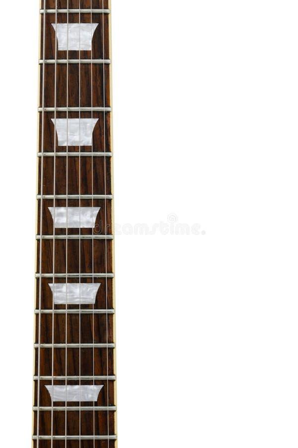 Gitarrenhals stockfotografie