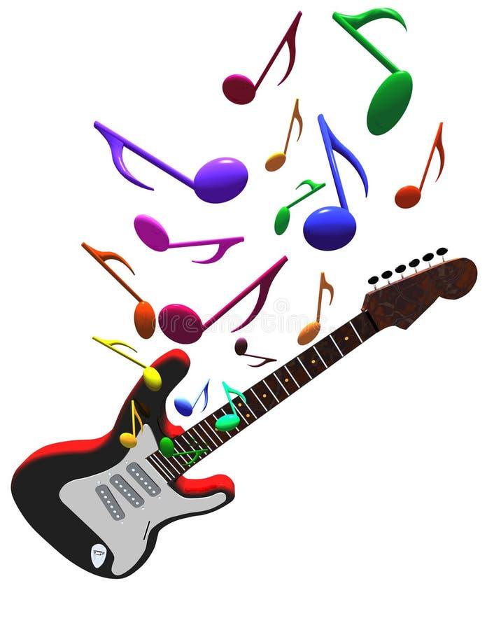 Gitarrenkonzert lizenzfreie abbildung
