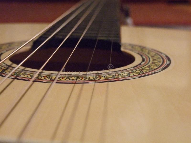 Gitarrenstiche lizenzfreie stockfotos