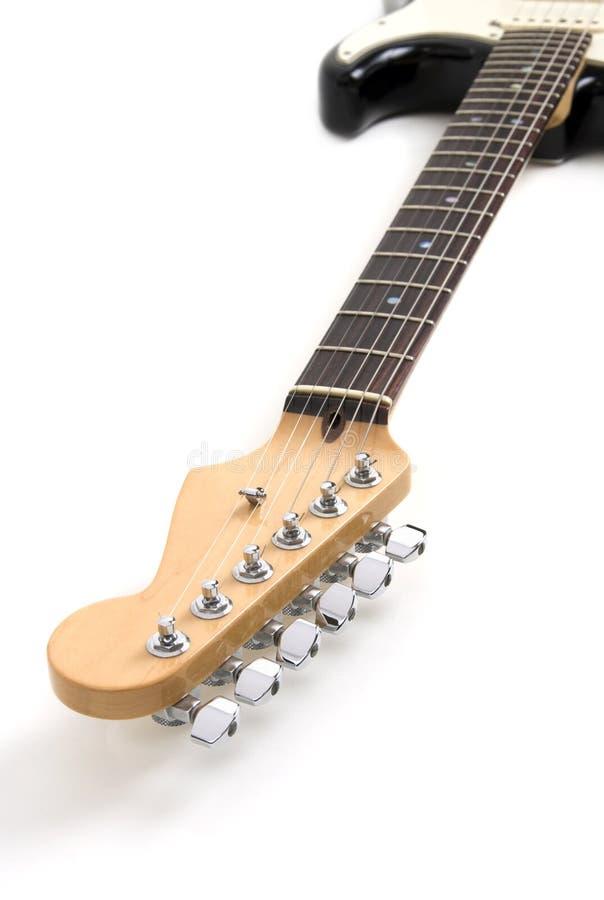 Gitarrentriebwerkgestell stockbild