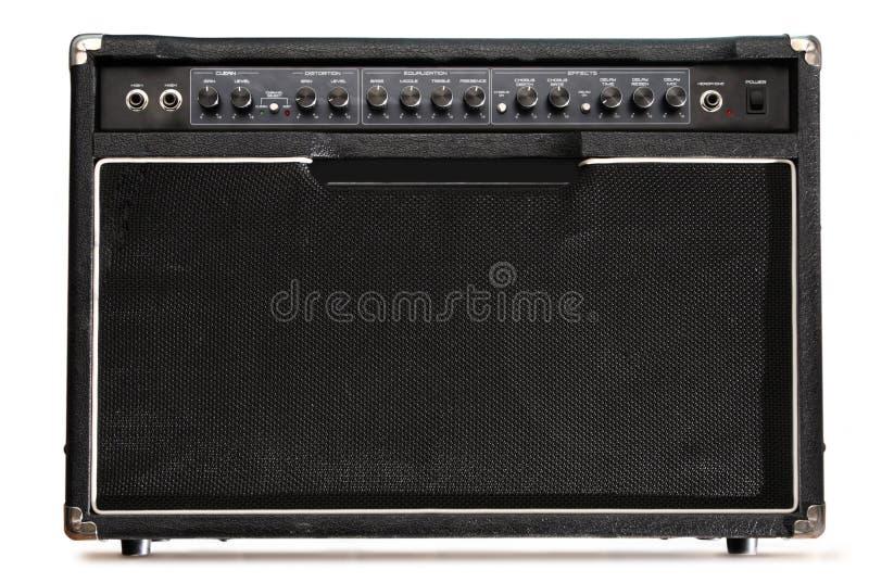 Gitarrenverstärker lizenzfreie stockfotografie