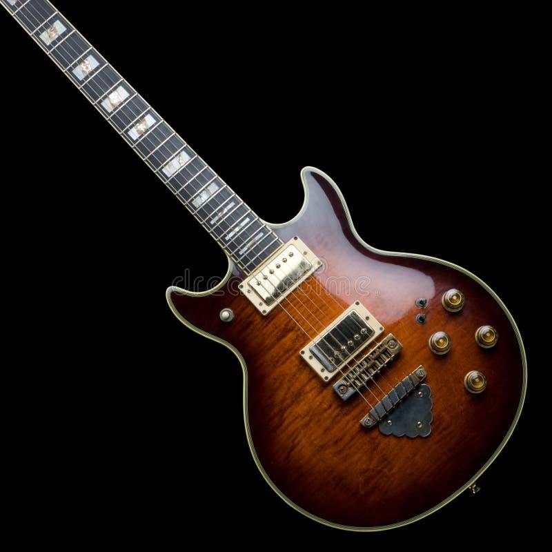 gitarribanez gammal rock arkivfoto