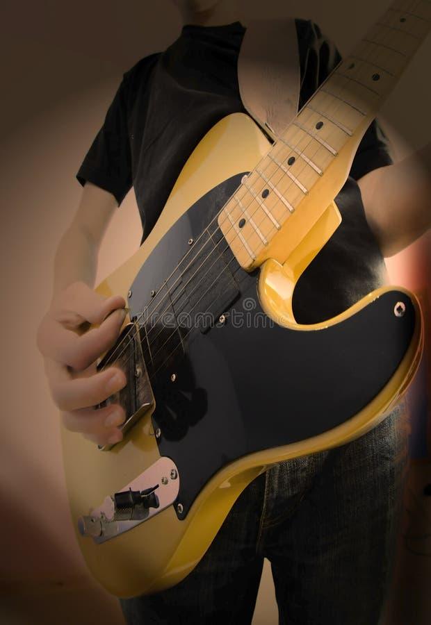 Download Gitarrist fotografering för bildbyråer. Bild av spelrum - 3526965
