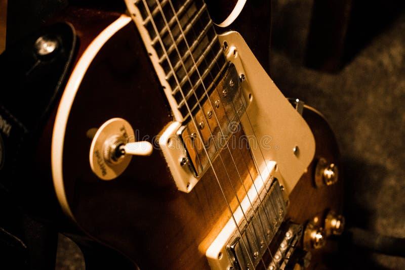 Gitarrkropp arkivfoto