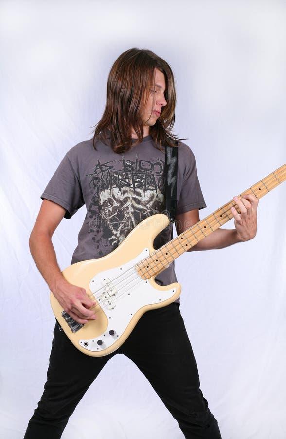 gitarrman royaltyfria bilder