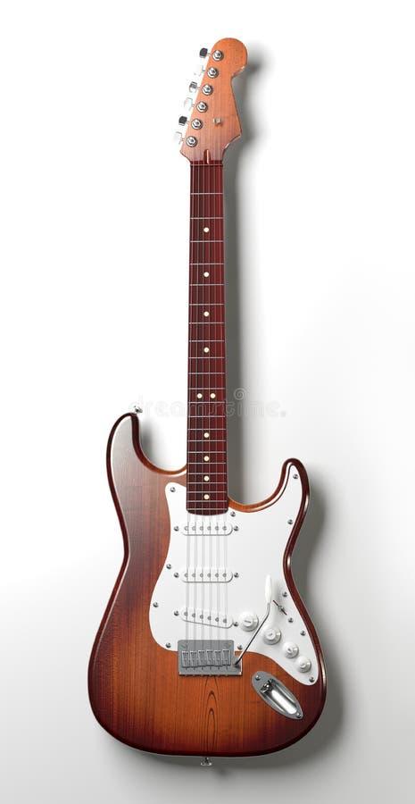 gitarrrock stock illustrationer