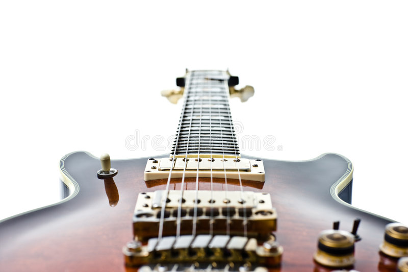 gitarrrock royaltyfri bild