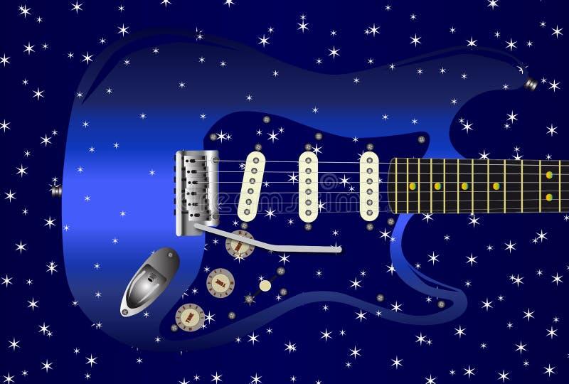 Download Gitarrstjärnabakgrund vektor illustrationer. Illustration av diagram - 76703129
