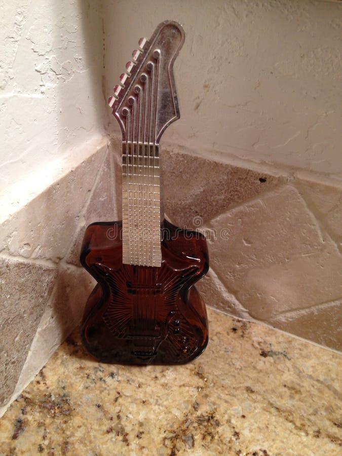 Gitary butelka obraz stock
