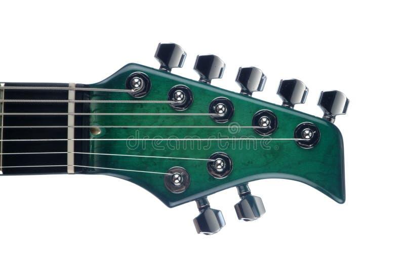 gitary elektryczne siedem struny fotografia stock