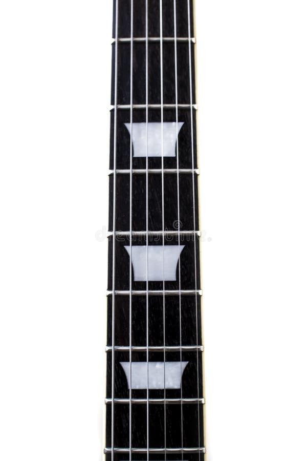 Gitary fingerboard zdjęcia royalty free
