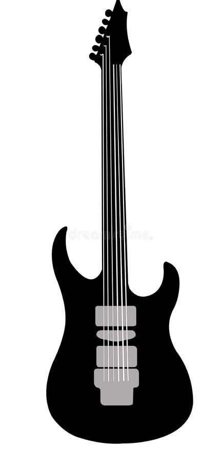 Gitary ikona ilustracja wektor