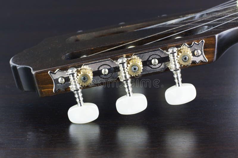 Gitary kierowniczy zbliżenie obraz royalty free