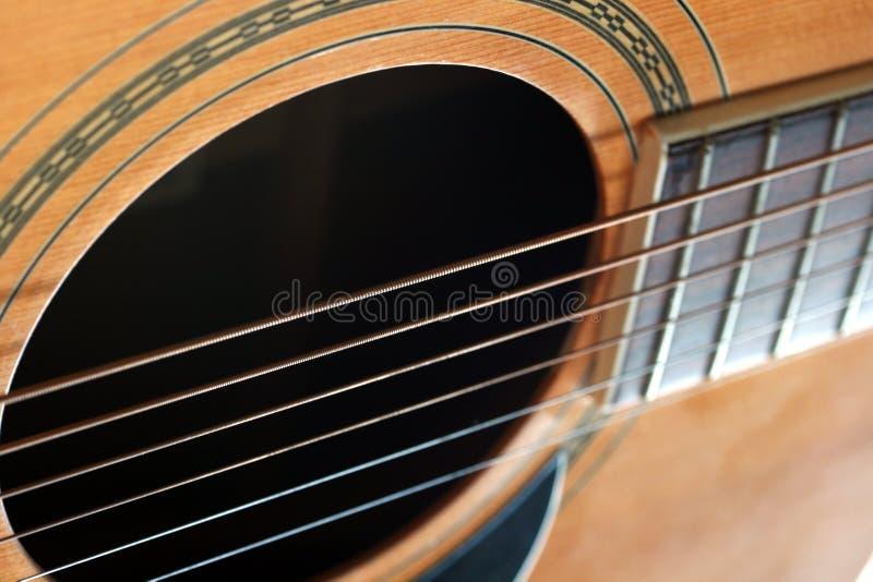 Download Gitary macro sznurki zdjęcie stock. Obraz złożonej z fret - 13332190