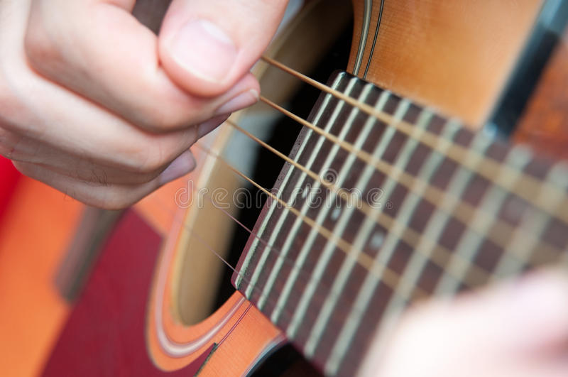Gitary muzyka obraz royalty free