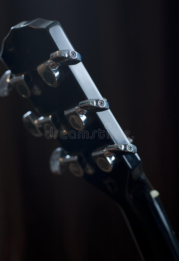Gitary nastrajania kluczy tło obraz royalty free