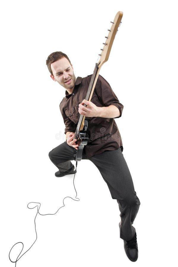 gitary osoby bawić się fotografia stock