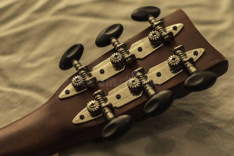 Gitary rękojeść obraz stock