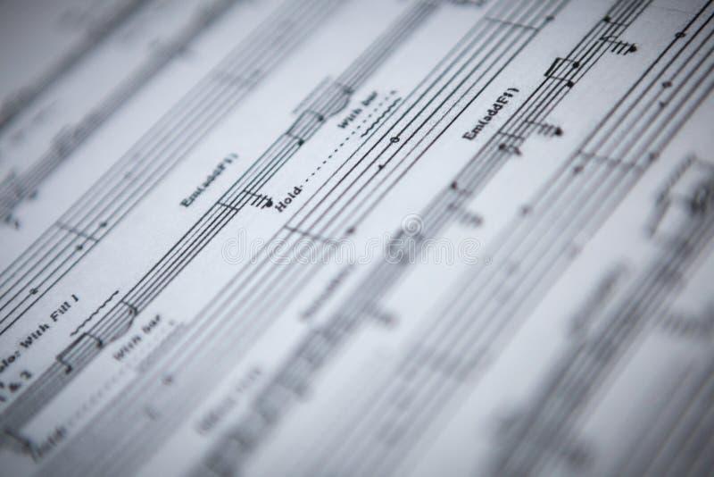 Gitary szkotowa muzyka zdjęcie stock