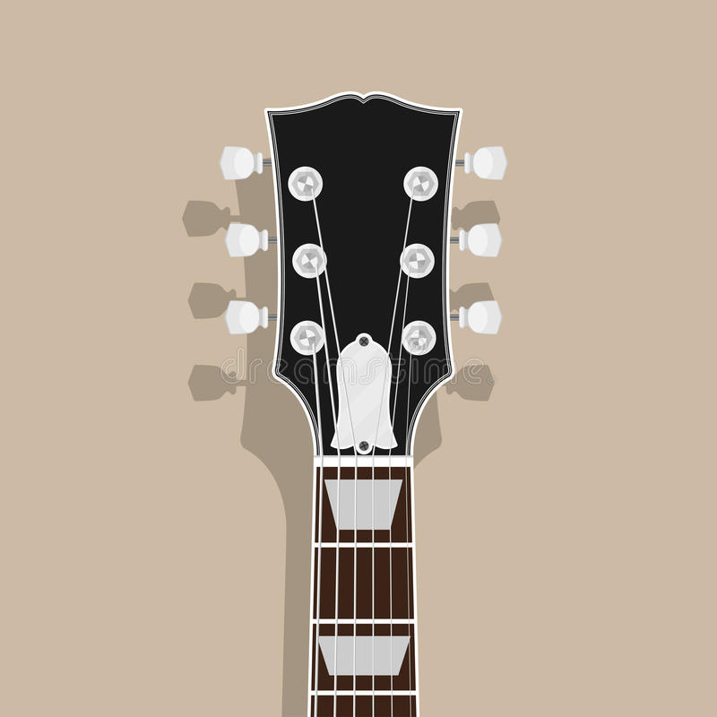 Gitary szyja ilustracja wektor