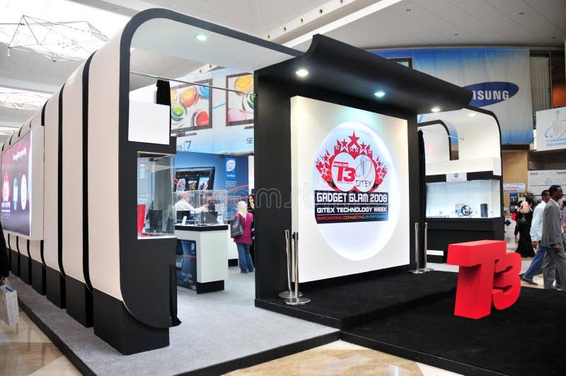 GITEX 2008 Doubai - Grootste Tentoonstelling in Azië stock afbeeldingen