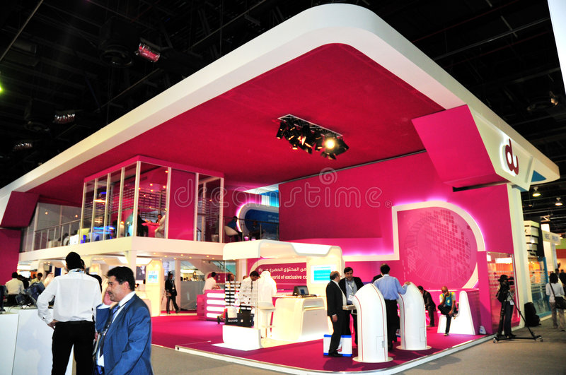 Download GITEX 2008 - DU Pavilion editorial photography. Image of consumer - 6820317