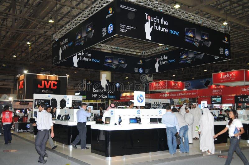 GITEX 2009 - El HP ahora toca el futuro imagenes de archivo