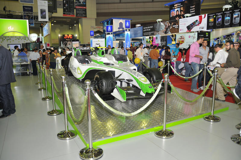 Download GITEX 2009 -Etisalat Branded Entertainment Car Editorial Photography - Image: 11462872