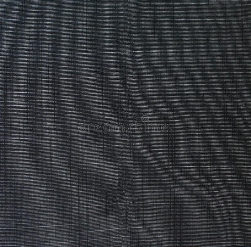 Gitterhintergrund-Beschaffenheitsmuster des schwarzen Segeltuches empfindliches stockfotografie